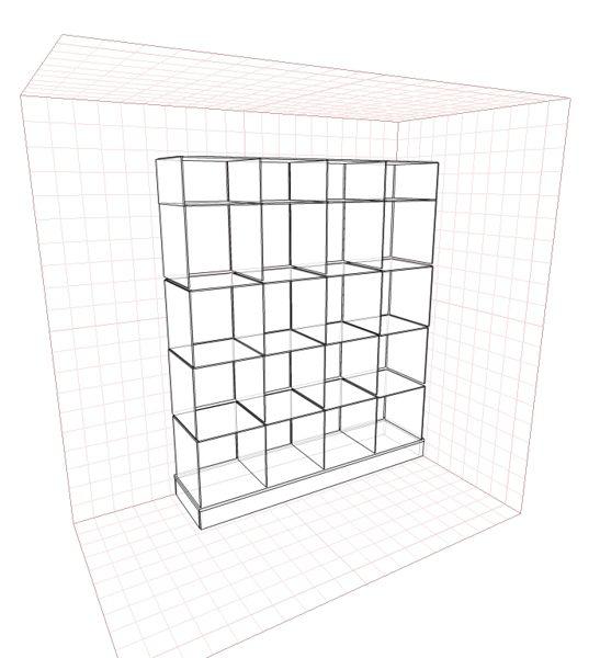 Эскиз витрины